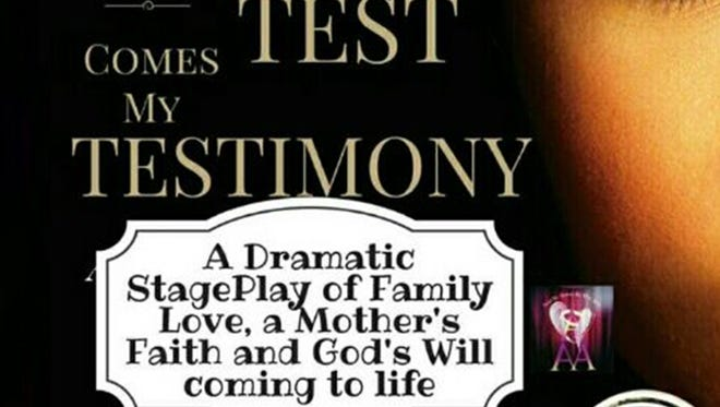"""""""From My Test Comes My Testimony"""" is a play written and produced by Carolyn Tarver Christian, a native of Union Springs. It is playing Saturday and Sunday at Troy University's Davis Theater in Montgomery."""