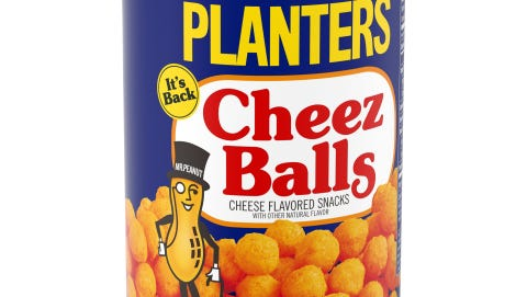 Planters will revive its classic Cheez Balls and Chez Curls this summer.