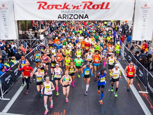 Rock N Roll Marathon Arizona