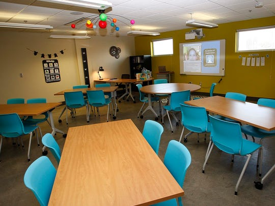 In 2014, the district unveiled a classroom at the new Academy of Exploration inside the Discovery Center of Springfield in downtown.