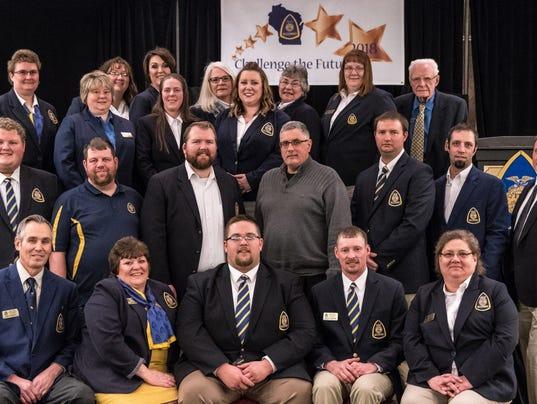 WSF 0216 FFA alumni officers