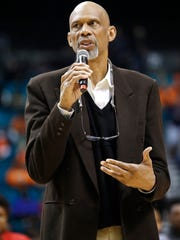 Kareem Abdul-Jabbar, the NBA's all-time leading scorer