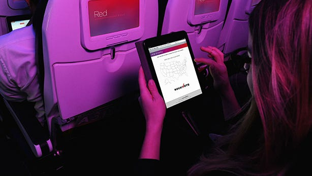 Fliers will be able to register to vote onboard Virgin America flights.