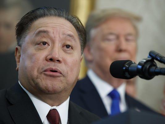Donald Trump,Hock Tan
