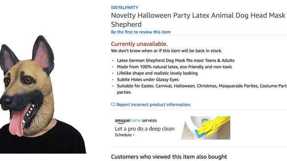Eagles fans are buying out Amazon s entire inventory of postgame underdog  masks 56b71292e