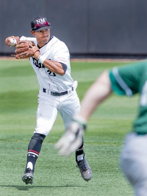 Nick Gonzales and the New Mexico State Aggies begin the Western Athletic Conference Tournament Wednesday night in Mesa, Ariz.