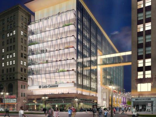 Night facade LC GRC
