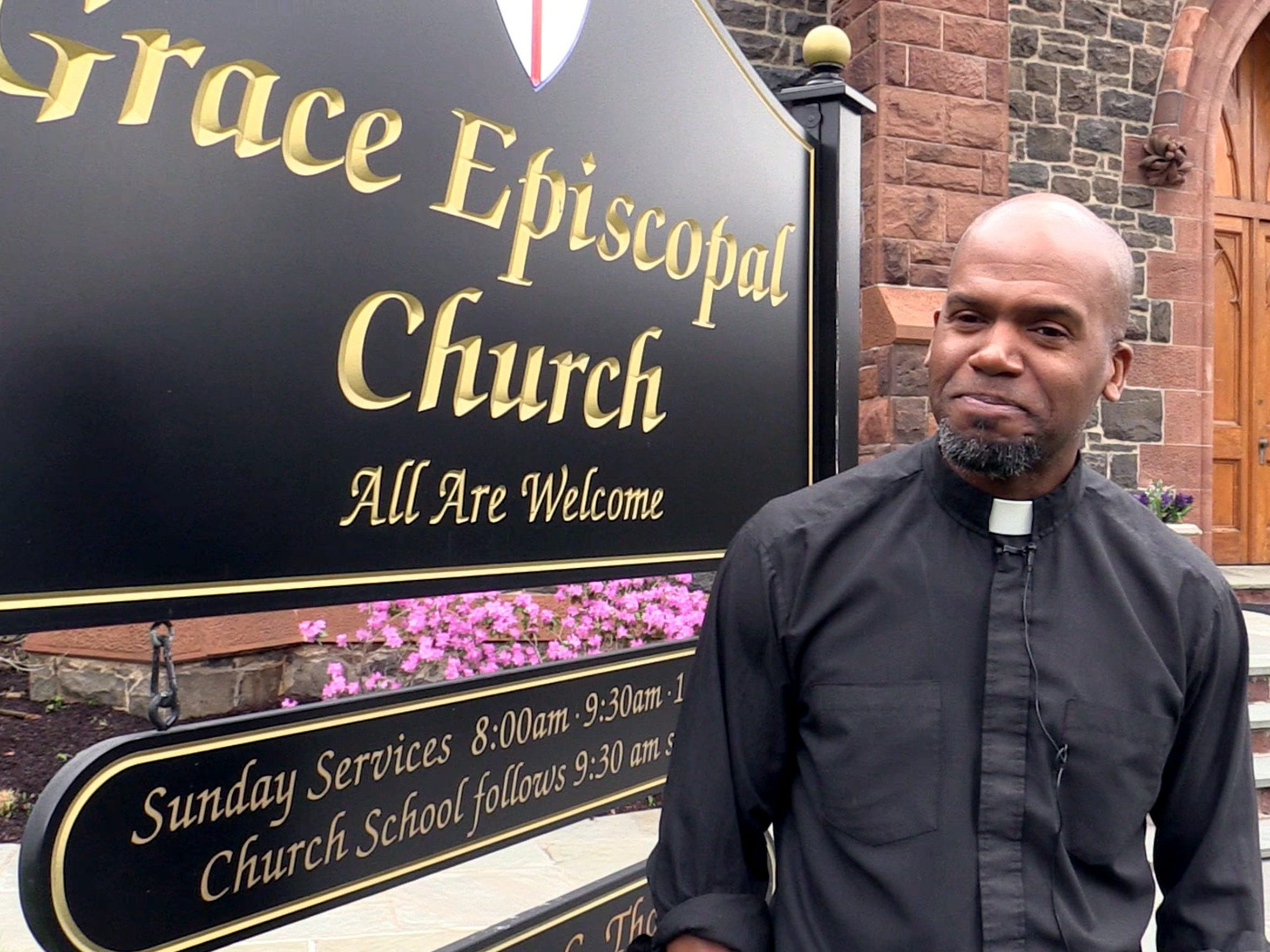 The Rev. Owen Thompson has been the pastor at Grace