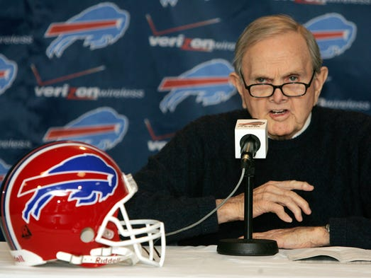 Ralph Wilson formed the Buffalo Bills in 1959.