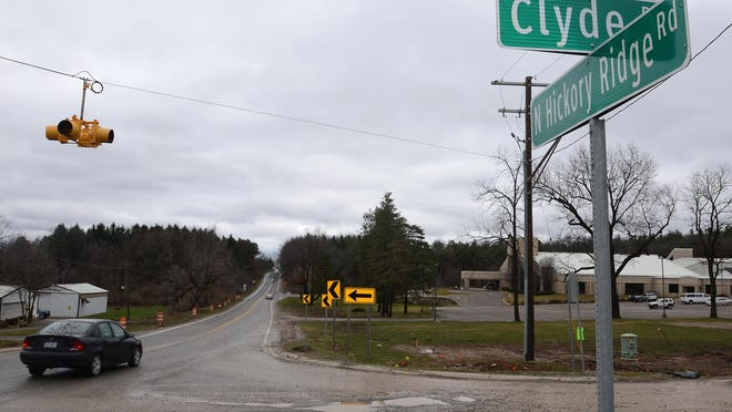 The intersection of Hickory Ridge and Clyde roads will be closed throughout July.