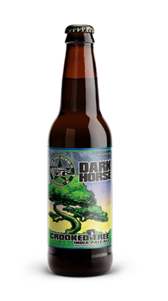 Crooked Tree is one of Dark Horse Brewing's flagship