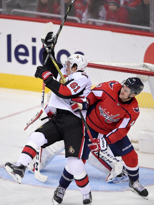 watch 4b4c8 edef9 Ovechkin, Vrana send Capitals to 5-2 win over Senators