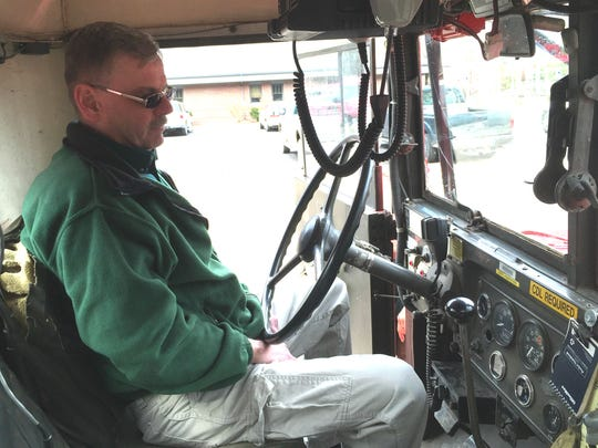 Jerry Turner, a firefighter with the Michigan Department