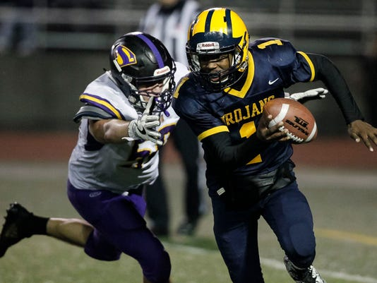CCS Football: Salinas vs. Milpitas