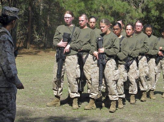 Training Female Marines