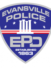 Evansville Police Department logo.