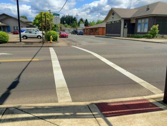 Stayton crosswalk