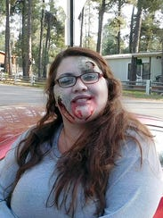 One of the zombies runners avoided seemed like a nice sort when she wasn't eating brains.