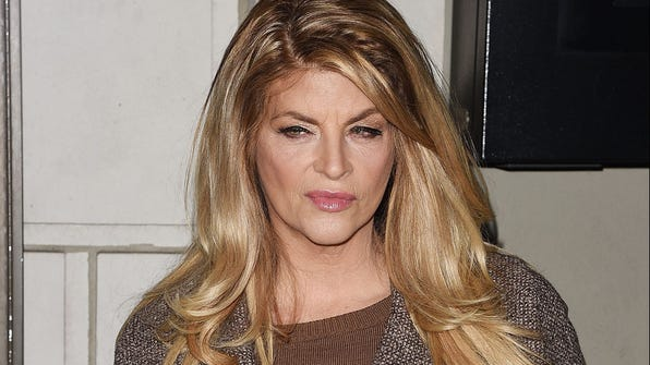 "NEW YORK, NY - JANUARY 13:  Kirstie Alley attends ""Constellations"" Broadway opening night at Samuel J. Friedman Theatre on January 13, 2015 in New York City.  (Photo by Andrew H. Walker/Getty Images) ORG XMIT: 531391501 [Via MerlinFTP Drop]"