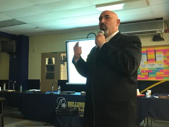 Belleville Schools Superintendent Richard Tomko discusses