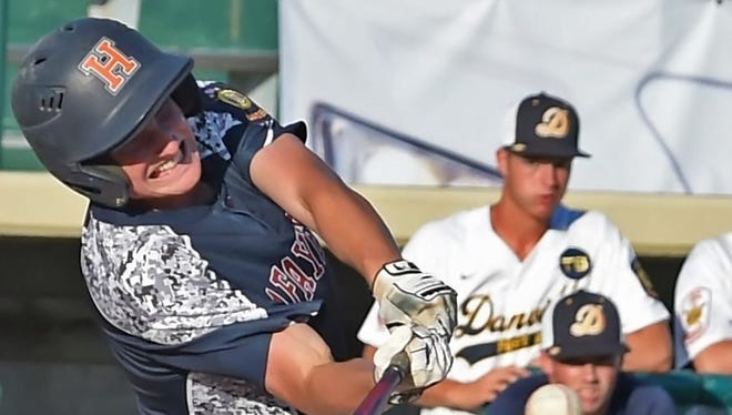Austin Dunwoody is is hitting .465 and leads Post 11 with 42 runs and 15 stolen bases this summer.