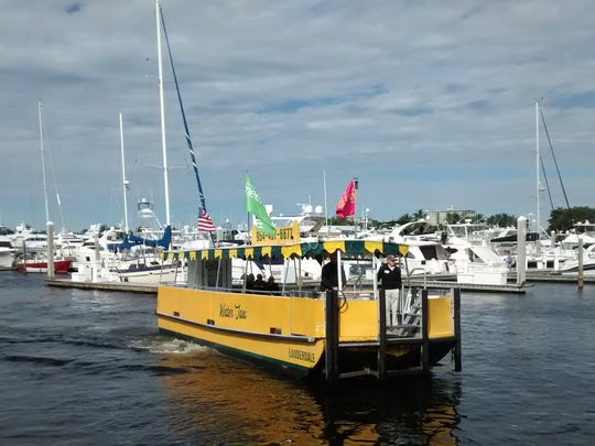 Water taxi, Fort Lauderdale