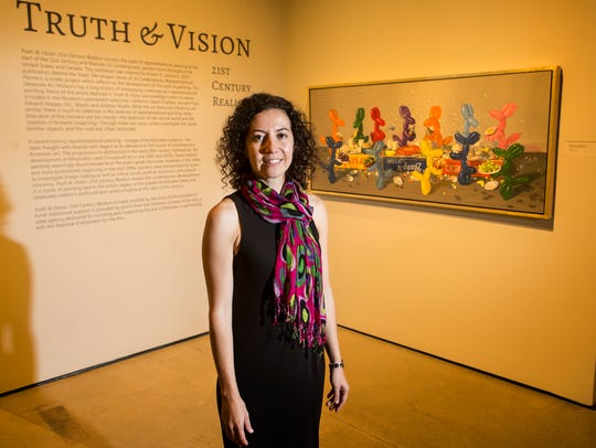 Margaret Winslow, Curator of Contemporary Art at the