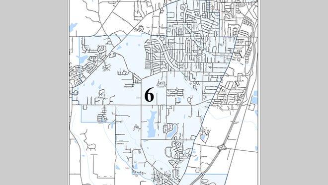 Ward 6 in Jackson, Miss.