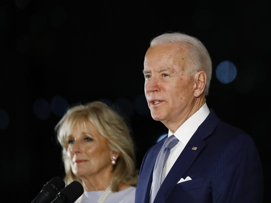 Democratic presidential candidate former Vice President Joe Biden and wife Jill disclosed earnings of no more than $924,000 over the last 17 months, according to a personal financial disclosure filed with the Federal Election Commission on Friday.