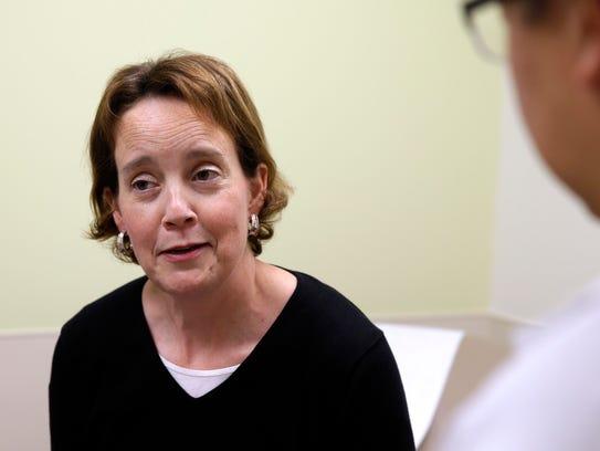 Sara Everts, a recent liver transplant recipient, talks