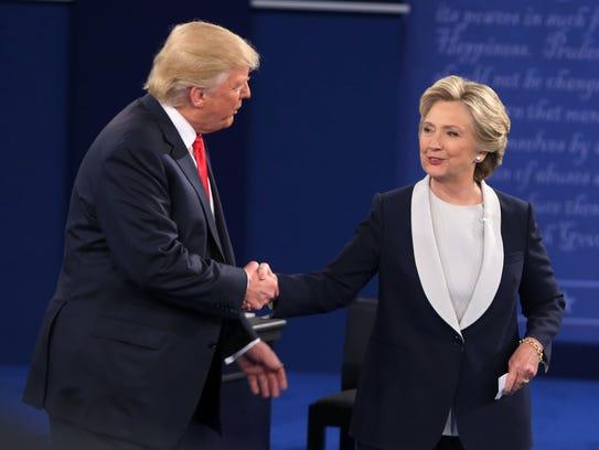 Donald Trump y Hillary Clinton volverán a verse las