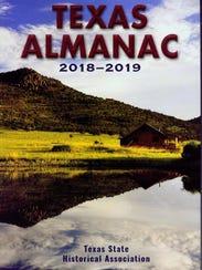 """Texas Almanac"" by the Texas State Historical Association"