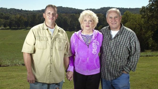 Gov. Bill Haslam's Chief of Staff Jim Henry (right) stands with his son Jimmy and his wife Pat in 2013. Jimmy died earlier this month and Jim Henry confirmed Monday that his wife has also passed away.