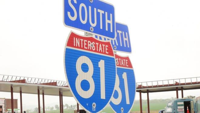 Interstate 81 is seeing roadwork.