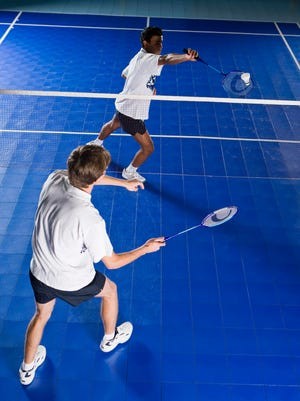 Try your hand at badminton at East Park Community Center this week.