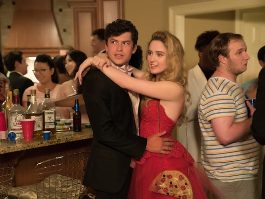 "Graham Phillips and Kathryn Newton star in ""Blockers."""