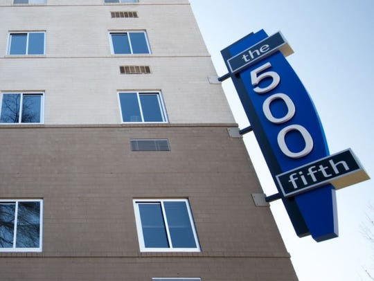 The 500 Fifth Apartments at 500 5th Ave. N. was formerly