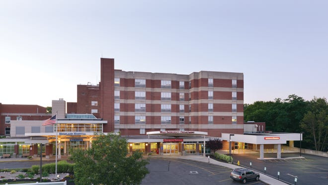 The hospital as it appears today.   Provided by Highland Hospital