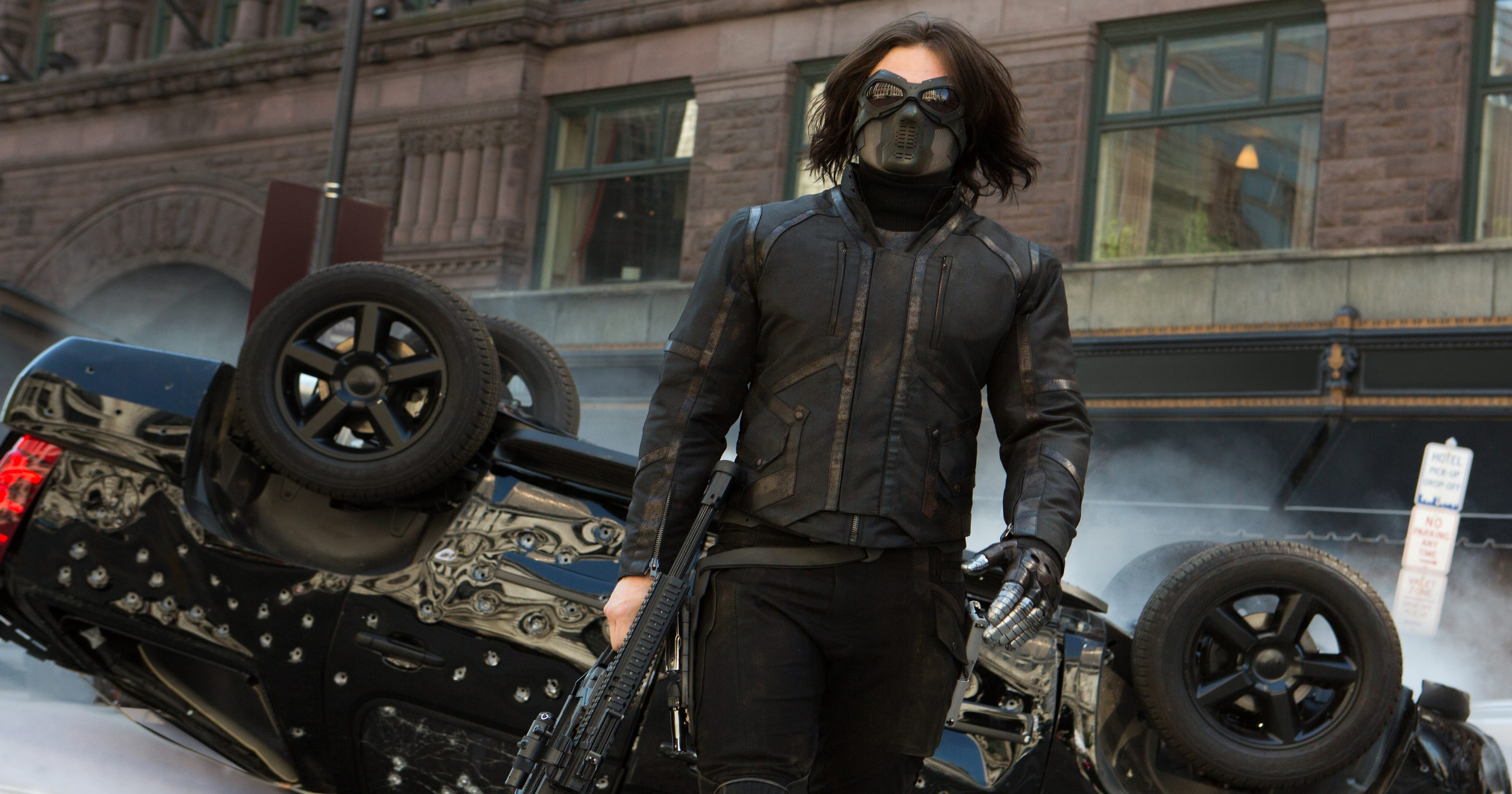 Stan is a man of action as 'The Winter Soldier'