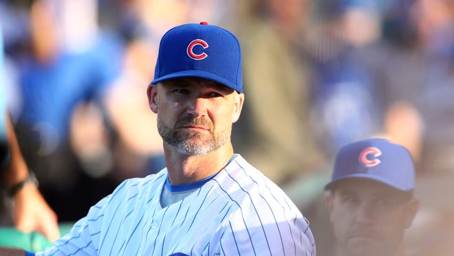 David Ross has played in 63 games this season with the Cubs.