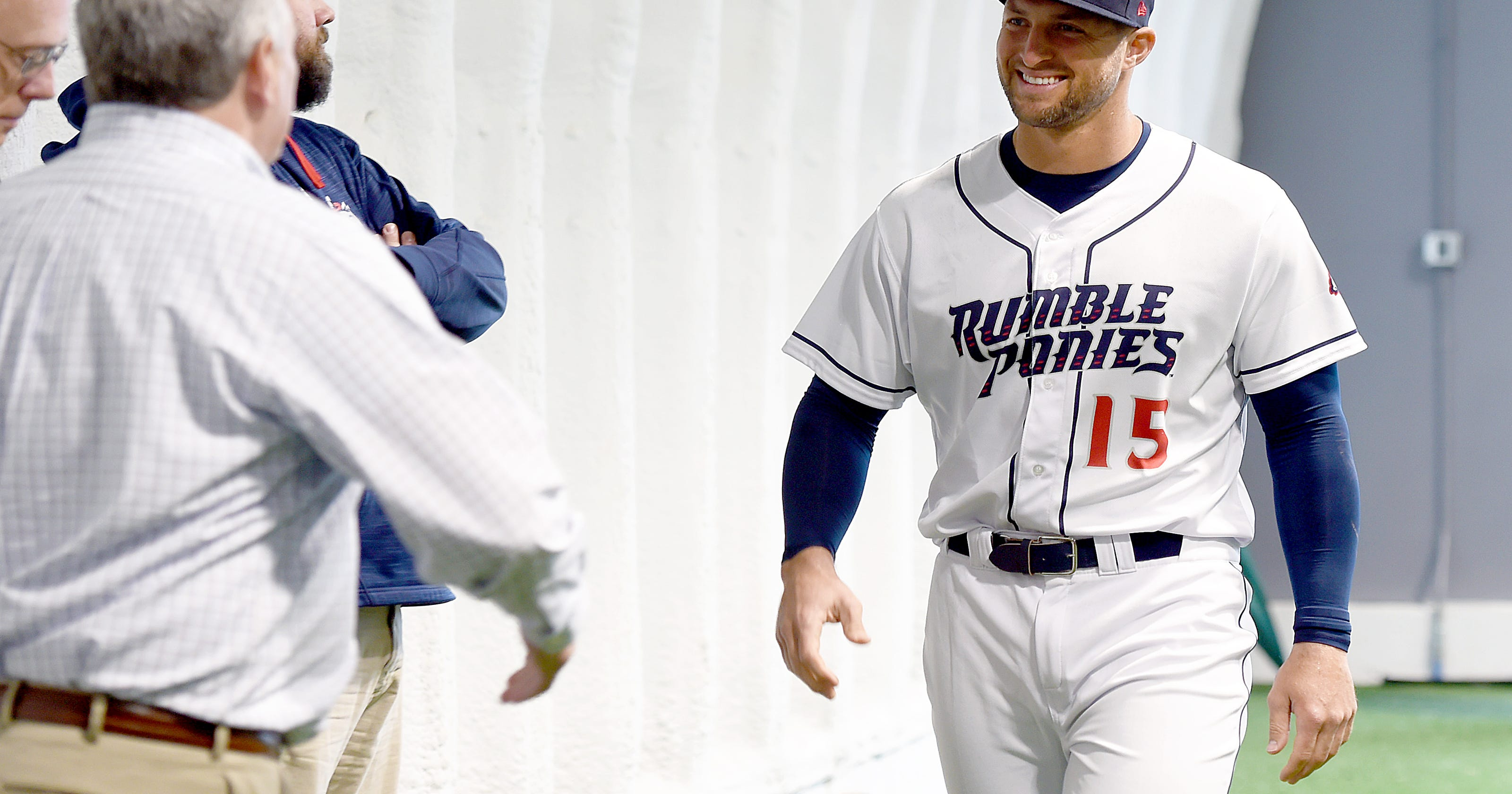 new style b8de5 b2252 Tim Tebow on His First Impressions of Binghamton Area