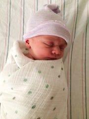 Baby Everest as a newborn.