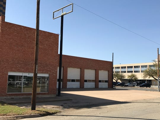 The former Shook Tire Co. building is used by Taylor County for storage.