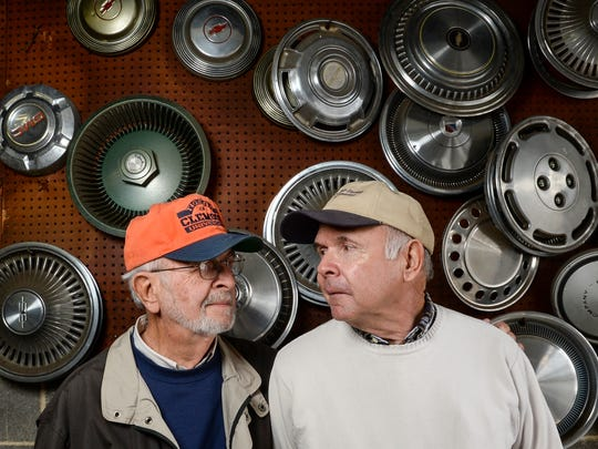 Bill Wells, left, and his brother Jerry Wells of Hi-Way Motors on South Main Street in Anderson are closing at the end of the year, ending a run of the business at the same location since 1951.