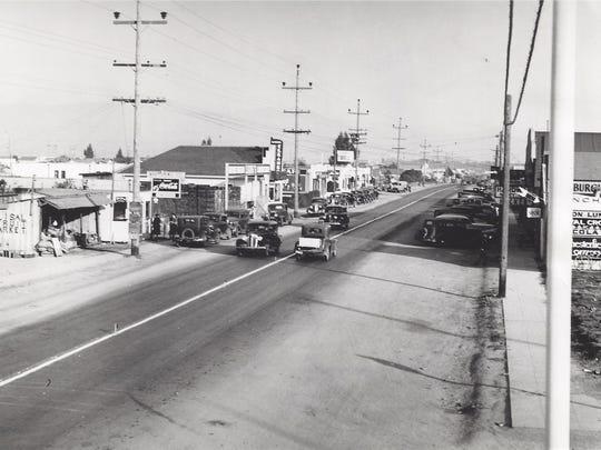 Calle de Alisal en 1935.