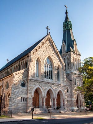 This beautiful French Gothic stone church has undergone several restorations during its 120 years to both ensure the structural integrity of the building and to create a meaningful, sacred space.