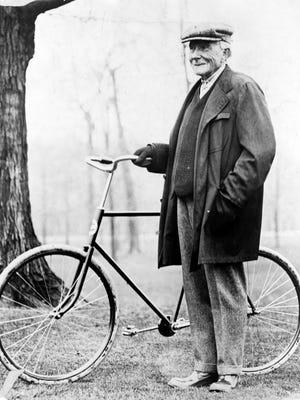 John D. Rockefeller in 1913.