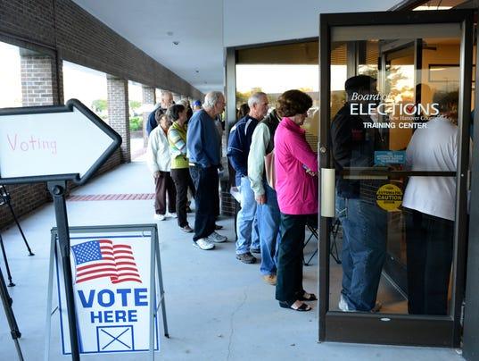 AP EARLY VOTING NC A ELN USA NC