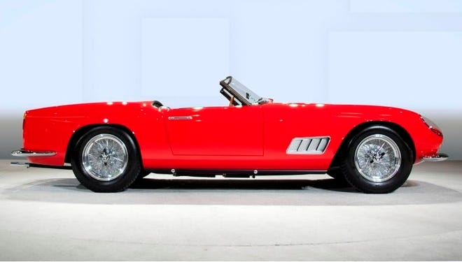 This 1958 Ferrari was the most valuable car on the block at the Scottsdale auction. It commanded $8.8 million at the RM Auction