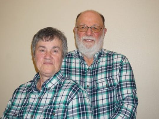 Anniversaries: Merlin Sampson & Betty Sampson